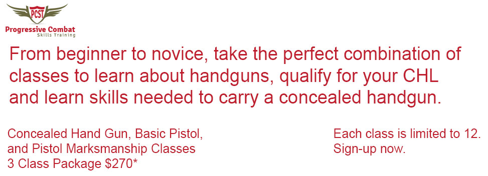 Weekend Pistol Foundation with Texas LTC Course
